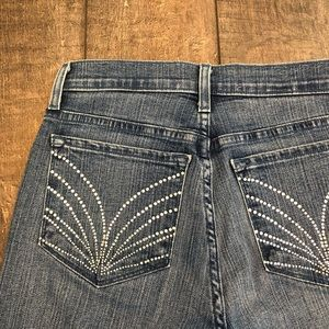 NYDJ Jewelled Capri Crop Jeans
